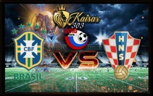 Brasil Vs Kroasia - Salin - Salin