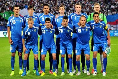 Tim Sepakbola Uzbekistan (2)