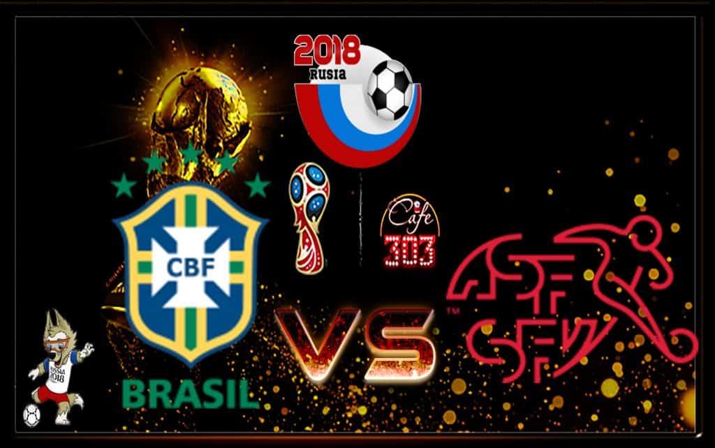 Prediksi Scor Brasil vs Swis 18 Juni 2018