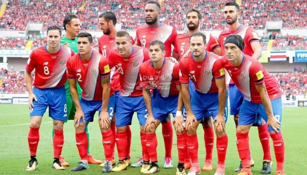 COSTA RICA Team Football 2018 </p> <p><img loading=