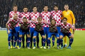 CROATIA team football 2018