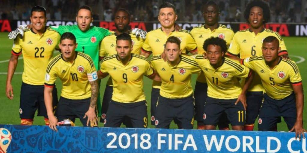 Kolombia Tim Sepak Bola