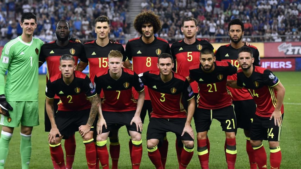 Tim Sepak Bola Belgia