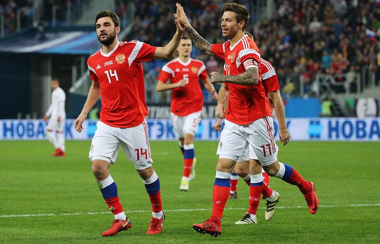 Tim Sepakbola Rusia