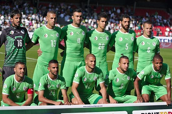 Aljazair Football Team ( 2 )