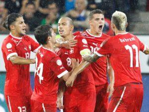 Swiss Football Team ( 2 )