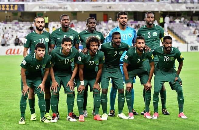 Saudi Arabia Football Team