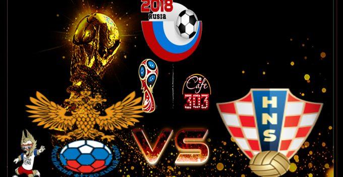 Prediksi Skor Rusia Vs Kroasia 8 Juli 2018